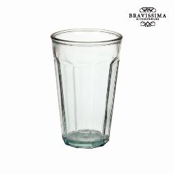 VASO DE VIDRIO RECICLADO ALTO - COLECCIóN PURE CRYSTAL KITCHEN BY BRAVISSIMA KITCHEN