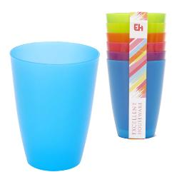 VASOS PLASTICO ALTOS COLORES CORBATA-6