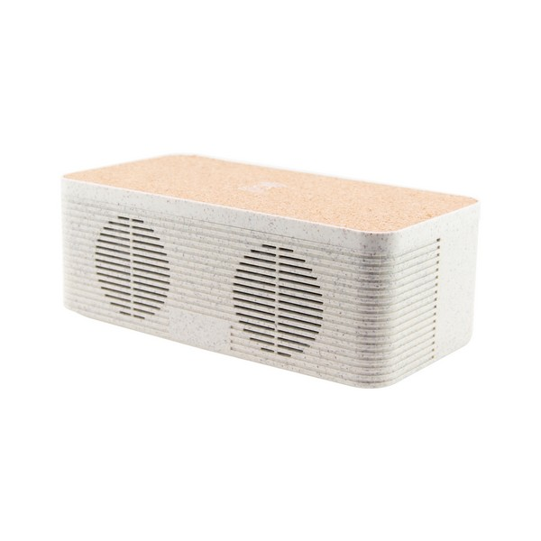 Altavoz Bluetooth Con Cargador Inalámbrico Qi Ksix Eco-friendly 1200 Mah 5w
