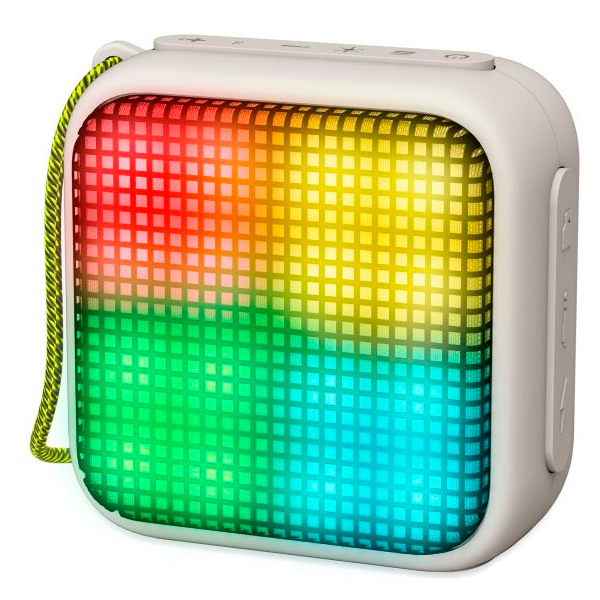 Altavoz Portable Bluetooth Energy Sistem Beat Box 2+ Lightcube Granite Ilumincion Rgb Bt4.2, 5w , Microsd, Radio Fm, Tws