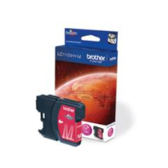 Brother Lc-1100hym Ink Cartridge, Magenta, Dcp-6690cw Mfc-5890cn Mfc-5895cw Mfc-6490cw Mfc-6890cdw, 86 X 26 X 123 Mm, Inyección De Tinta 0.0