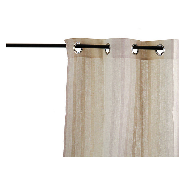 Cortinas Gift Decor Beige (260 X 1 X 140 Cm)