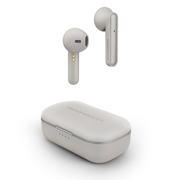 Earphone Bluetooth Energy Sistem Style 3 True Wireless Ivory Easy Conec , Caja De Carga,