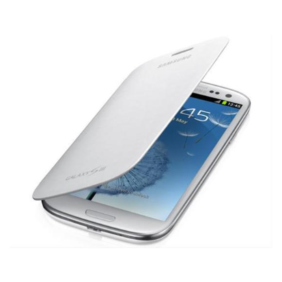348fb56aa7f Funda Samsung Flip Cover Galaxy Siii Mini I8190 Bl