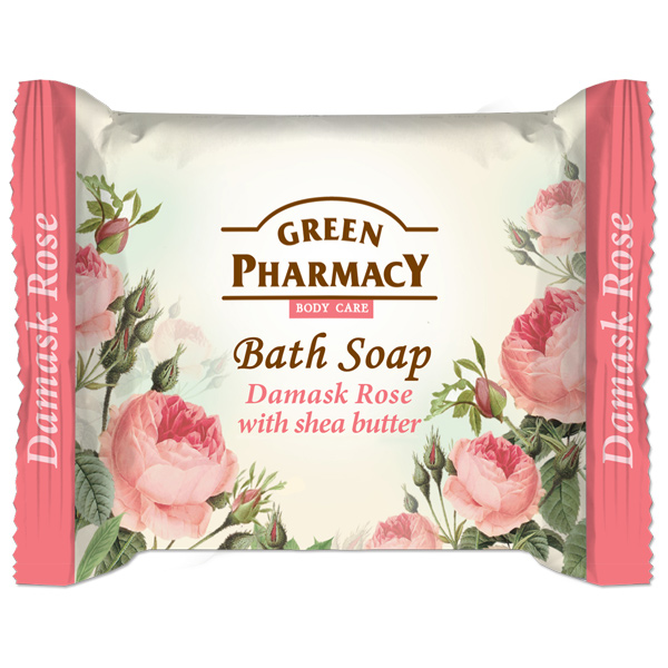 Green Pharmacy Bath Soap Damask Rose With Shea Butter