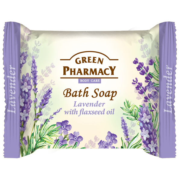 Green Pharmacy Bath Soap Lavender With Flaxeed Oil