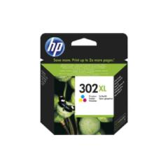 Hp 302xl High Yield Tri-color Original Ink Cartridge, Cian, Magenta, Amarillo, Alto, 20 - 80%, -40 - 60 °c, Deskjet 1110, Deskjet 2130 Aio, Deskjet 2132 Aio, Deskjet 2134 Aio, Deskjet 3630 Aio, Officejet 3830, 15 - 32 °c