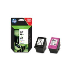 Hp 62 2-pack Black/tri-color Original Ink Cartridges, Negro, Cian, Magenta, Amarillo, Hp, Hp Envy 5540 All-in-one, Hp Envy 5640 All-in-one, Hp Officejet 5740 All-in-one, Hp Envy 7640 All-in- 0.0