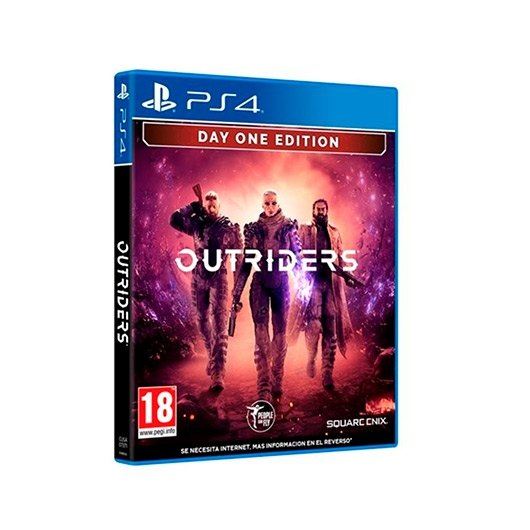 Juego Sony Ps4 Outriders Day One Edition Para Playstation 4