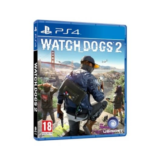 Juego Sony Ps4 Watch Dogs 2