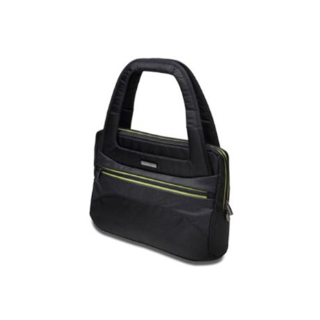 Maletin Kensington Triple Trek Tote Para Portatil De 14 Y Ultrabook Color Negro 110x365x460mm