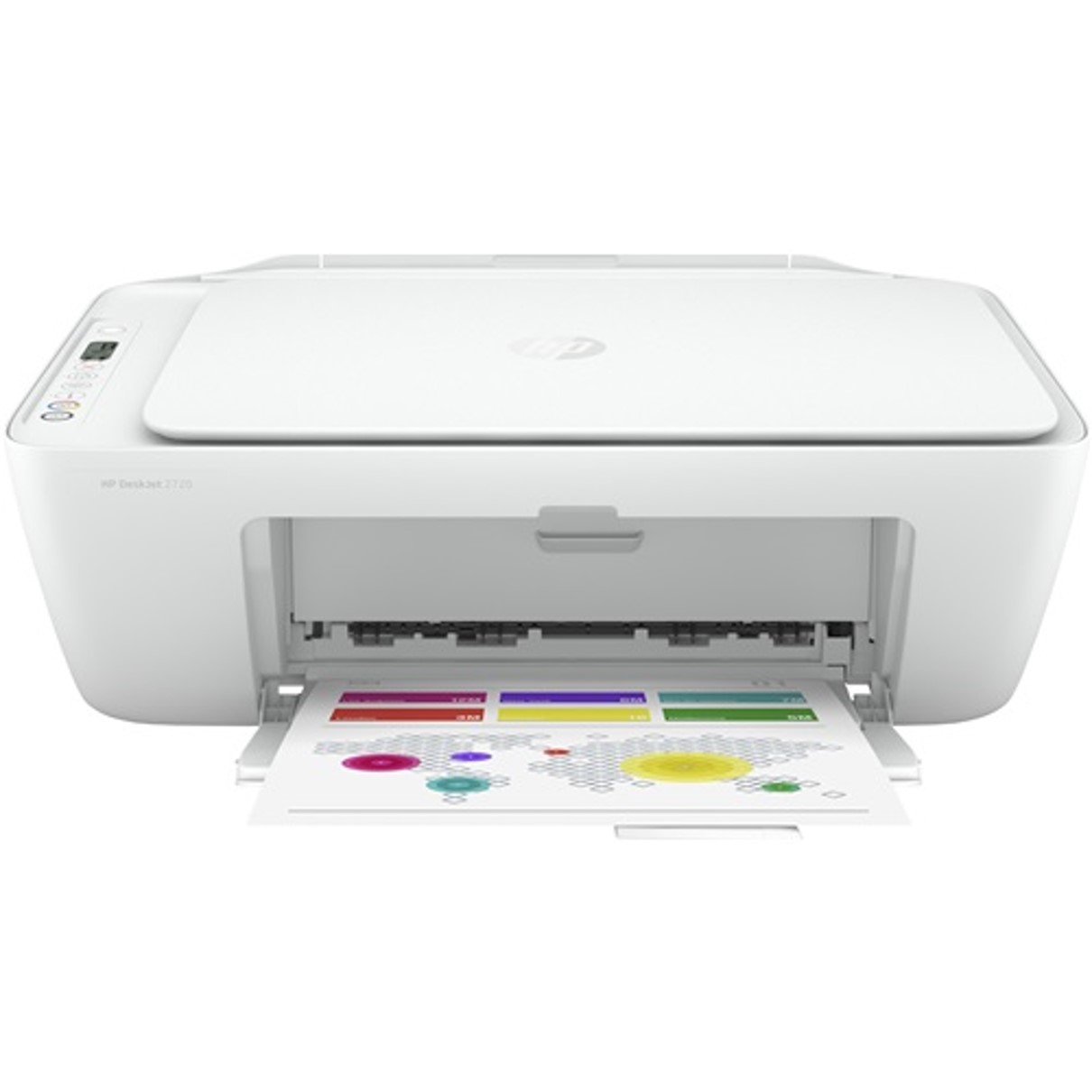 Multifuncion Hp Inyeccion Color Deskjet 2720 A4/ 7.5ppm/ Usb/ Wifi 0.0