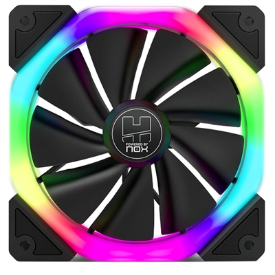 Nox Ventilador Caja Hummer S-fan 120mm  Dual Ring