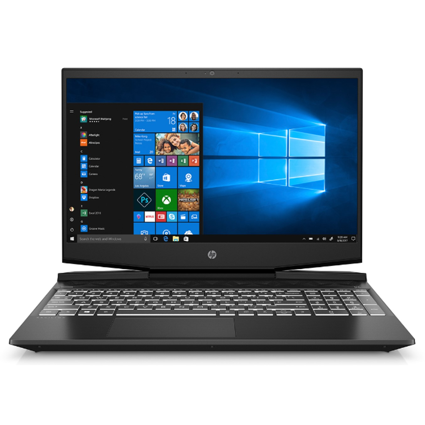 Portatil Hp Pavilion Gaming 15-dk0002ns I5-9300h 15.6 8gb / Ssd512gb / Nvidia Gtx 1650 4gb/ Wifi / Bt / W10 0.0