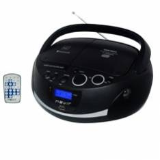 Radio Cd Mp3 Portatil Nevir Nvr-480ub Negro / Bluetooth 0.0