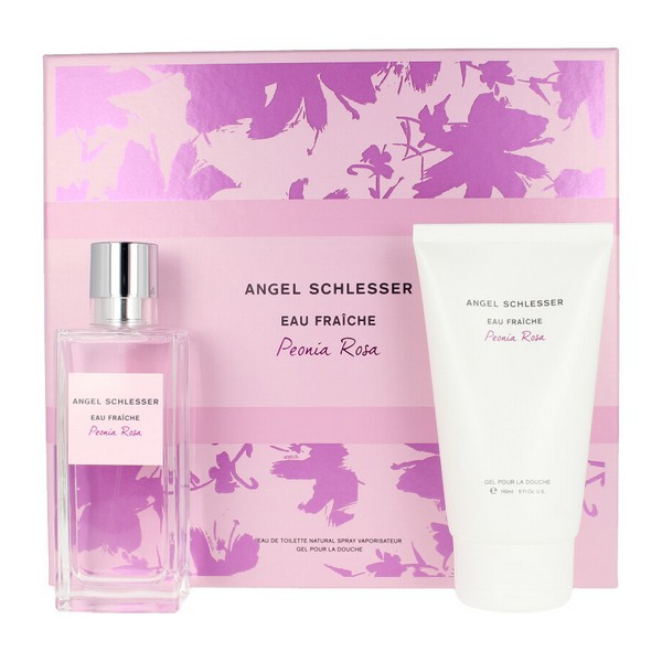 Set De Perfume Mujer Peonia Angel Schlesser Edt (2 Pcs)
