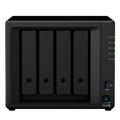 Synology Ds420+ Nas 4bay Disk Station 0.0