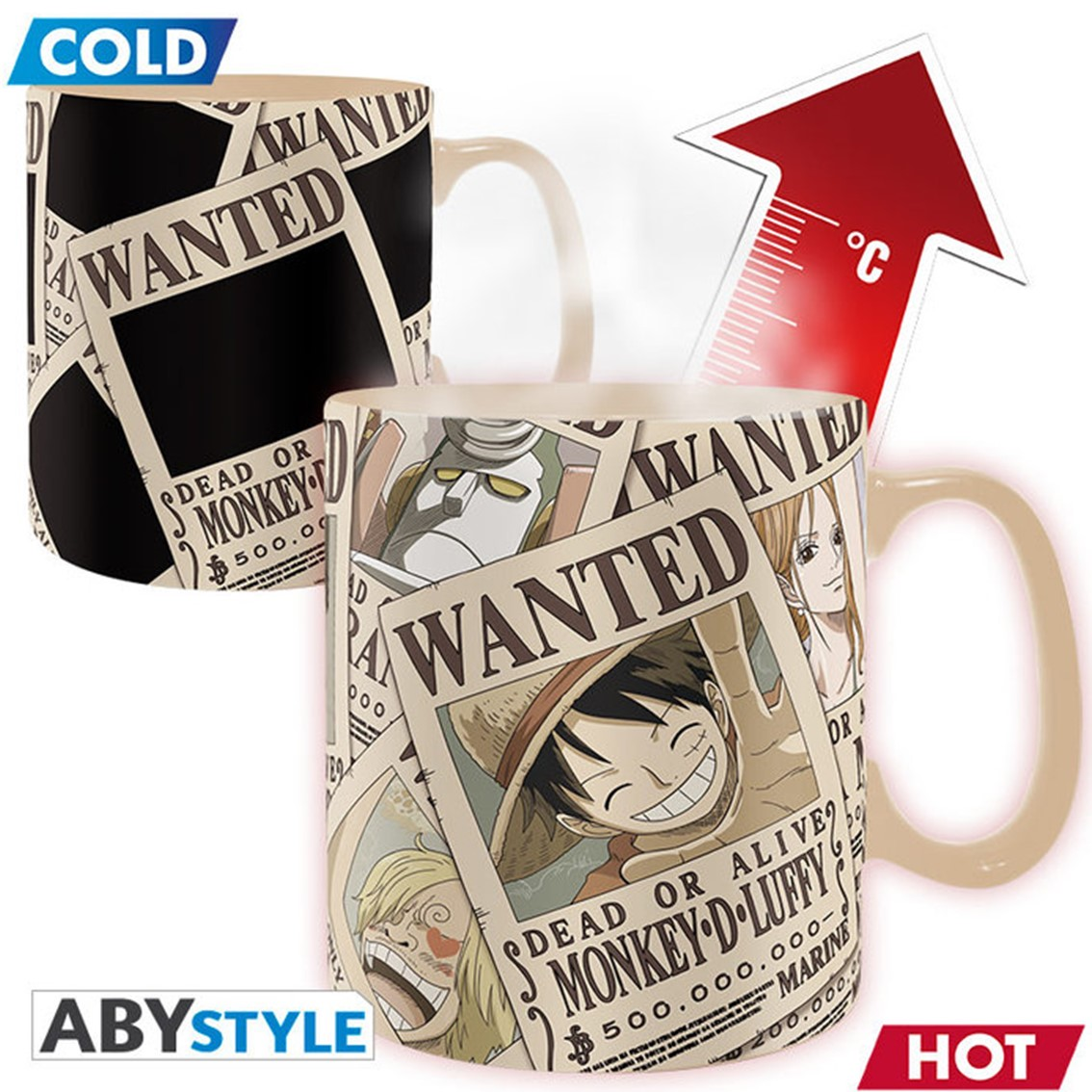 Taza Termica Abysse One Piece 0.0