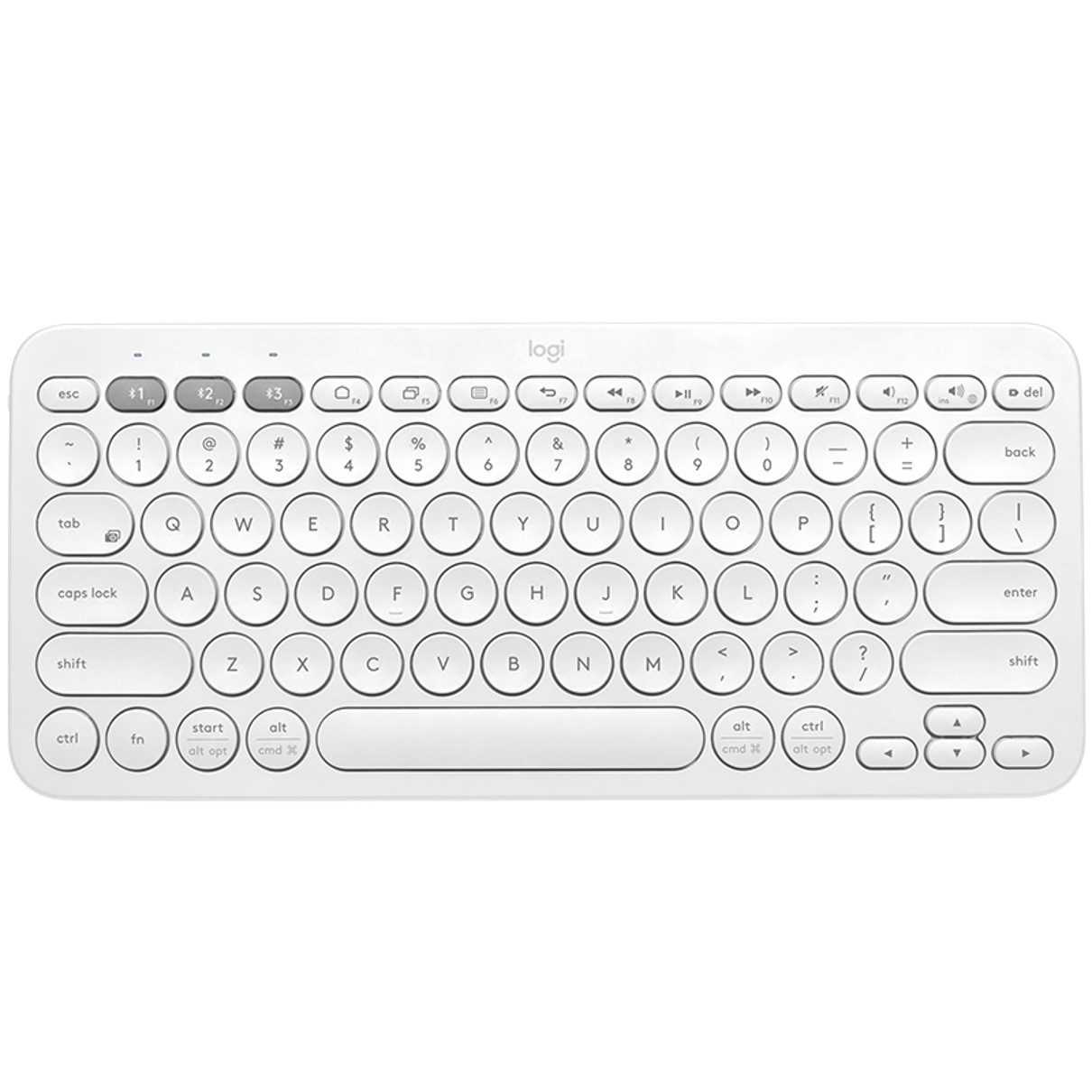 Teclado Logitech K380 Multi-device Bluetooth Blanco 0.0