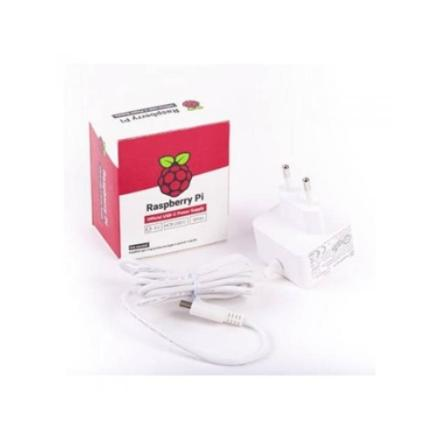 Transformador Para Raspberry Pi 5.1v 3a Usb-c White