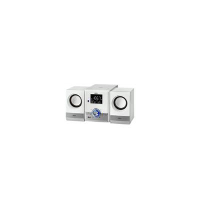 AEG MC 4461 BT, MIDI SET, DE 1 VÍA, PLATA, COLOR BLANCO, CORRIENTE ALTERNA, 3,5 MM, CD-R, CD-RW MINI CADENAS