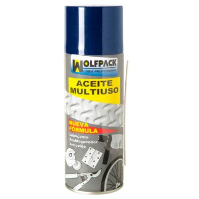 ACEITE MULTIUSO TRIPLE ACCION WOLFPACK SPRAY  520 GMS