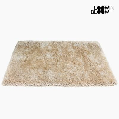 ALFOMBRA POLIéSTER SEDA BEIGE (170 X 240 X 8 CM) BY LOOM IN BLOOM