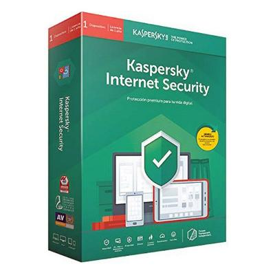 ANTIVIRUS HOGAR KASPERSKY INTERNET SECURITY MD 2020 (3 DISPOSITIVOS)