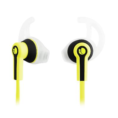 AURICULARES MICRO NGS SPORT RACER AMARILLO AURICULARES