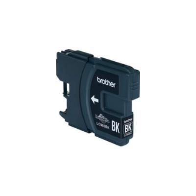 BROTHER LC-980BK, NEGRO, BROTHER MFC-250C, DCP-145C, MFC-255CW, MFC-290C, MFC-295CN, DCP-165C, DCP-195C, DCP-375CW, DCP-365CN, 86 X 25 X 123 MM, INYECCIÓN DE TINTA