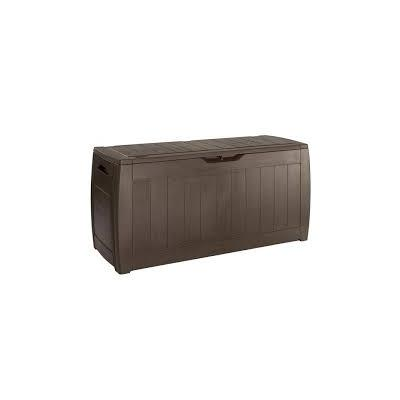 BAUL MARRON HOLLYWOOD GRAIN 117,5 X 45 X 57,3 CM.