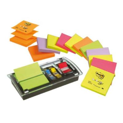 BLOC DE NOTAS ADHESIVAS QUITA Y PON POST-IT DISPENSADOR DE INDEX BLOCS Y CUBOS DE NOTAS REPOSICIONALES