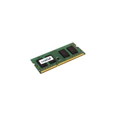 CRUCIAL 8GB DDR3 SODIMM, DDR3, PORT?TIL, 204-PIN SO-DIMM, 1024M X 64, 1 X 8 GB, SO-DIMM