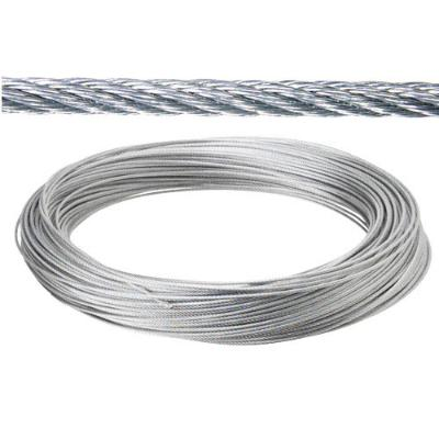 CABLE GALVANIZADO  10 MM (ROLLO 100MT) NO ELEVACION CABLES DE ACERO Y ALAMBRES