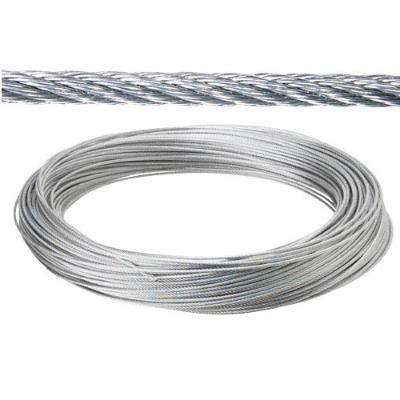 CABLE GALVANIZADO  12 MM (ROLLO 100MT) NO ELEVACION CABLES DE ACERO Y ALAMBRES