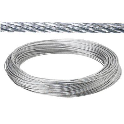 CABLE GALVANIZADO 5 MM (ROLLO 25 MT) NO ELEVACION CABLES DE ACERO Y ALAMBRES