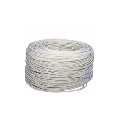 CABLE UTP CAT 5+ ESPECIAL EXTERIOR BLANCO BOBINA 250M CABLES DE RED
