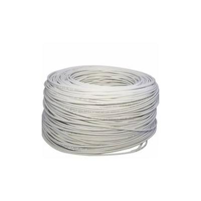 CABLE UTP CAT 5+ ESPECIAL EXTERIOR BLANCO BOBINA 500M CABLES DE RED