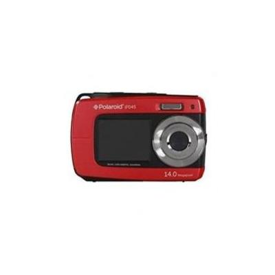 CAMARA DIGITAL POLAROID IF045 ROJA 14MP DOBLE PANTALLA 2.7/1.8 SUMERGIBLE 3MTS