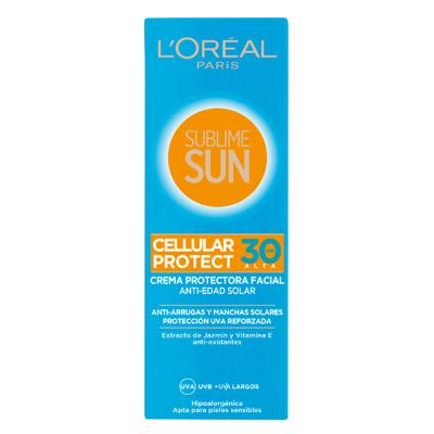 CREMA SOLAR SUBLIME SUN LOREAL MAKE UP SPF 30 (75 ML)