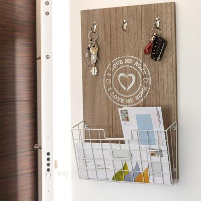 CUADRO ORGANIZADOR DE PARED I LOVE MY HOME