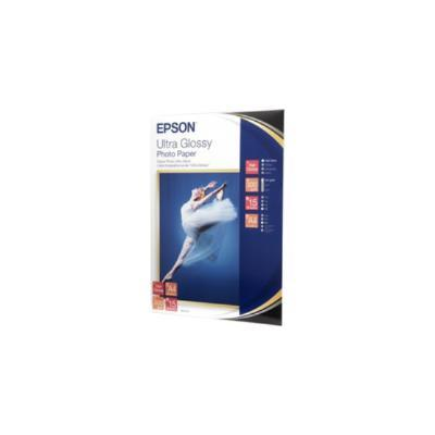 EPSON ULTRA GLOSSY PHOTO PAPER, DIN A4, 300 G/M², 15 HOJAS, 106 X 156 X 10 MM, A4