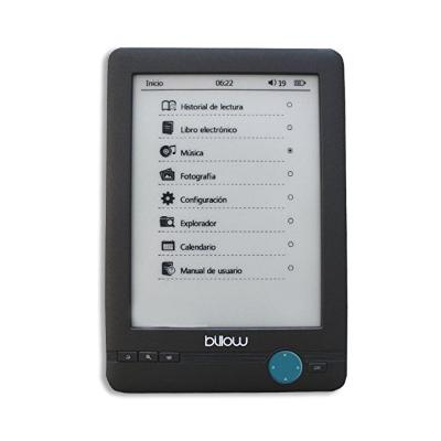 "EBOOK BILLOW MRELEE0101 E03T 6"" E-INK 4 GB NEGRO"