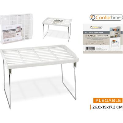 ESTANTE PLEGABLE 26.8X19X17.2CM CONFORTIME