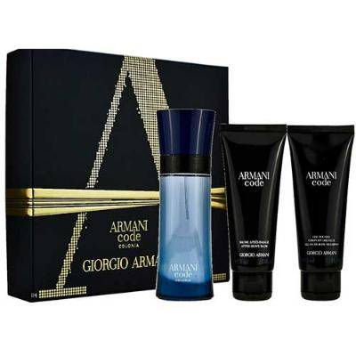 ESTUCHE GIORGIO ARMANI CODE MEN EDT 75 ML + GEL DE DUCHA 75 ML + AFTER SHAVE 75 ML
