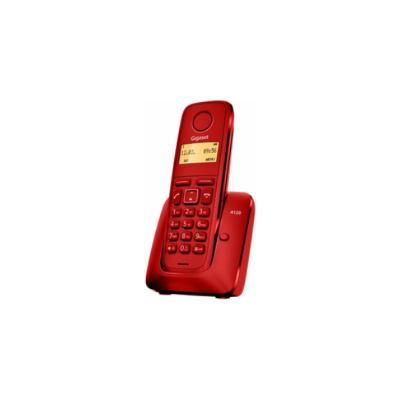 GIGASET A120, DECT, DESK/WALL, ROJO, AAA, 5 - 45 °C, DIGITAL