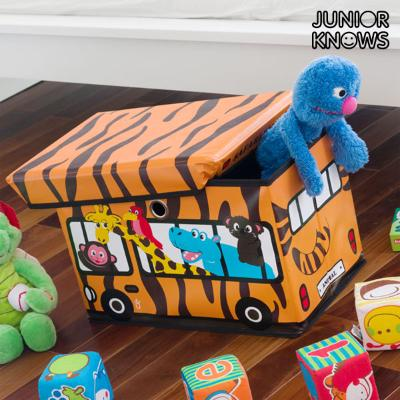 JUGUETERO PLEGABLE BUS JUNIOR KNOWS