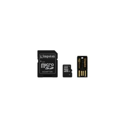 KINGSTON TECHNOLOGY 16GB MULTI KIT, MICROSDHC, -25 - 85 °C, NEGRO, -40 - 85 °C, FLASH, CLASS 10 MEMORIAS SECURE DIGITAL (SD)