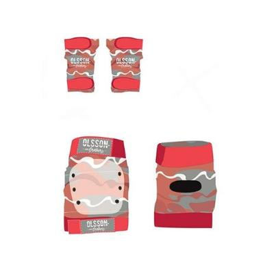 KIT PROTECCION OLSSON BOY TALLA S ROJO