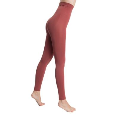 LEGGINS PUSH UP COSMÉTICO-TEXTIL EMANA 140 DEN COLOR GRANATE